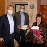 В Ермишинском районе чествовали старейшего члена «Единой России»