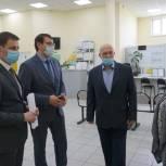 Дмитрий Шатохин и Владимир Косов посетили с рабочей поездкой Усть-Куломский район