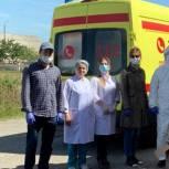 Депутат Асият Алиева оказала помощь больнице в пос. Мамедкала