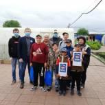 Партийцы поздравили многодетную семью Черновых с 1 июня
