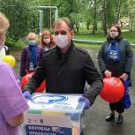В Серпухове для детей, находящихся на лечении передана «Коробка храбрости»