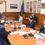 Хизри Шихсаидов провел рабочее совещание