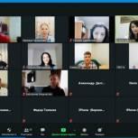 Ольга Швецова провела онлайн-встречу с участниками проекта «ПолитСтартап»
