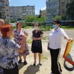 Вопросы благоустройства обсудили на встрече с жителями поселка Жасминный