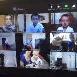 Спортивный праздник для детей в онлайн-режиме провел местный координатор партпроекта в Саратове
