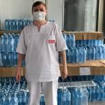 «Спасибо Врачам»: более 1000 упаковок питьевой воды передали красногорским медикам