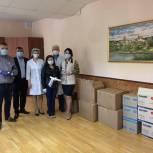Лидер праймериз передал касимовским медикам партию средств защиты для работы в условиях пандемии