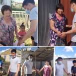 Калмыцкий депутат оказал помощь жителям Целинного района