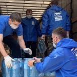 В рамках акции «Спасибо врачам» в медицинские учреждения Серпухова доставили 16 тонн питьевой воды