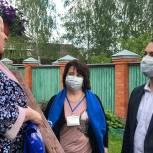 В Орехово-Зуеве доставили лекарства пожилой женщине