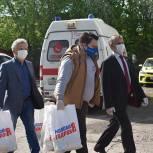 100 наборов к чаю переданы на подстанцию скорой помощи в Щёлкове