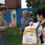 """Продолжается работа волонтеров проекта """"Мы вместе"""""""