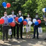 Праздничные акции в честь Дня России провела «Единая Россия» в Химках
