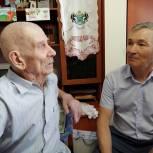 Фуат Сафитдинов поздравил с 90-летием ветерана Потребкооперации Ямала, Югры и Тюмени