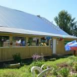 В Якшур-Бодьинском районе открыли отремонтированный в рамках партпроекта клуб