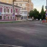 В рамках партпроекта в Саратове продолжается ремонт автомобильных дорог