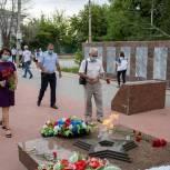 В Волгоградской области прошли мероприятия, посвященные годовщине начала войны