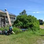 В Кадомском районе ремонтируют сельский Дом культуры