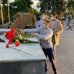 Тюменская молодежь почтила минутой молчания погибших воинов