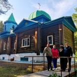 Тобольские единороссы помогут построить трапезную храма Казанской иконы Божией Матери