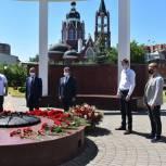Возложение цветов состоялось в Щелково