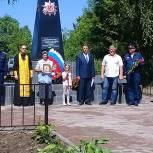 В день Парада Победы в селе Гавердово открыли обновленный памятник