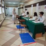 Ольга Волкова проверила ход голосования по поправкам в Конституцию РФ в Королёве
