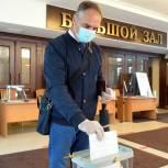 Николай Токарчук проголосовал по поправкам в Конституцию Российской Федерации