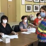 Ирина Слуцкая отдала свой голос на Общероссийском голосовании по внесению поправок в Контитуцию РФ
