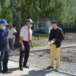 В Октябрьском районе продолжается мониторинг реализации партийного проекта «Городская среда»