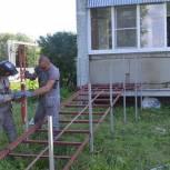 В деревне Большое Грызлово г.о. Серпухов появится пандус для местной жительницы