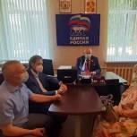 Андрей Красов оказал поддержку обществу слепых Спасского района