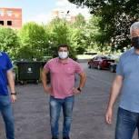 Партийцы Балашихи проверили ремонт подъездов в микрорайоне Железнодорожный