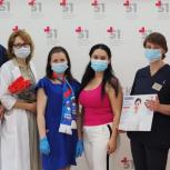 Активисты Филёвского парка вручили памятные подарки врачам, борющимся с коронавирусом