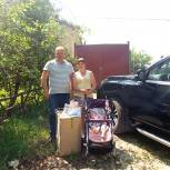 Владимир Материкин помог многодетной семье из Шацка