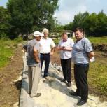 В Чучкове по инициативе жителей обустраивают парк