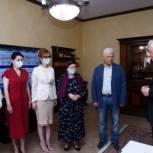 Хизри Шихсаидов поздравил с прошедшим юбилеем Магомедали Магомедова