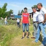 В Касимове на берегу реки Оки создадут зону отдыха со смотровой площадкой