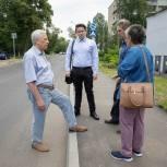 Юрий Липатов посетил Лыткарино с рабочим визитом
