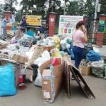 """Активисты""""Единой России""""в Бурятии помогли отсортировать мусор"""