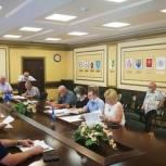 В Ступине состоялось заседание политсовета местного отделения партии «Единая Россия»