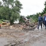 Игорь Брынцалов встретился с жителями городского округа Рузский, чьи дома пострадали в результате чрезвычайной ситуации