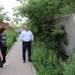 Дорожка в школу на Михайловском шоссе будет освещена