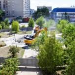 В Оренбуржье полным ходом идут работы по благоустройству 34 объектов