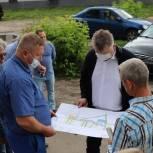Олег Соковиков проверил ход благоустройства в Павловском Посаде