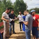 В Лобне депутаты-единороссы контролируют ход работ по комплексному благоустройству дворовых территорий