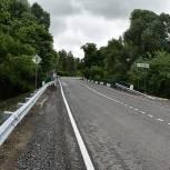 В Милославском районе ремонтируют автодорогу регионального значения