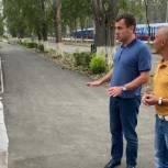 Чернов проверил, как реализуется партпроект «Городская среда» в Балаково