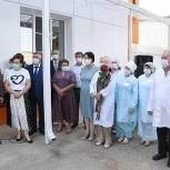 В Батайске завершился капремонт детского поликлинического отделения №4 Центральной горбольницы