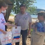 Штаб депутата Госдумы Зелимхана Муцоева начал раздавать продуктовые наборы в Нижних Сергах